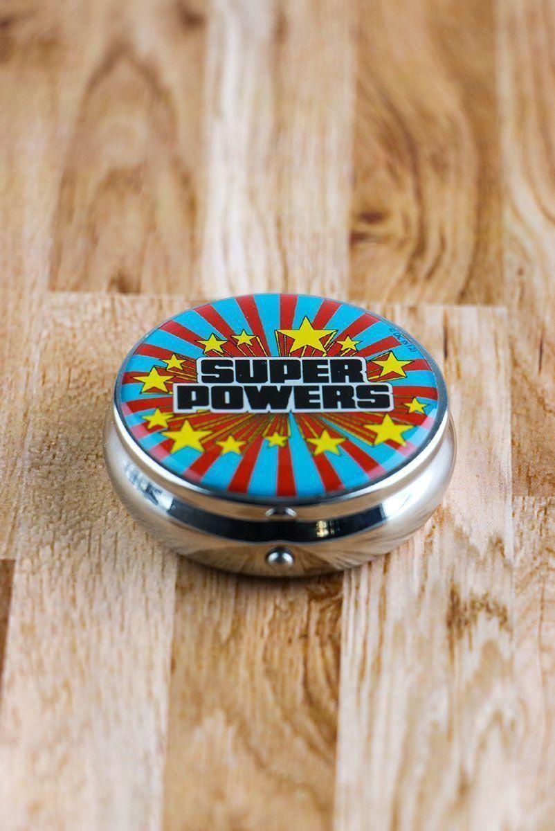 Porta Comprimidos Super Powers