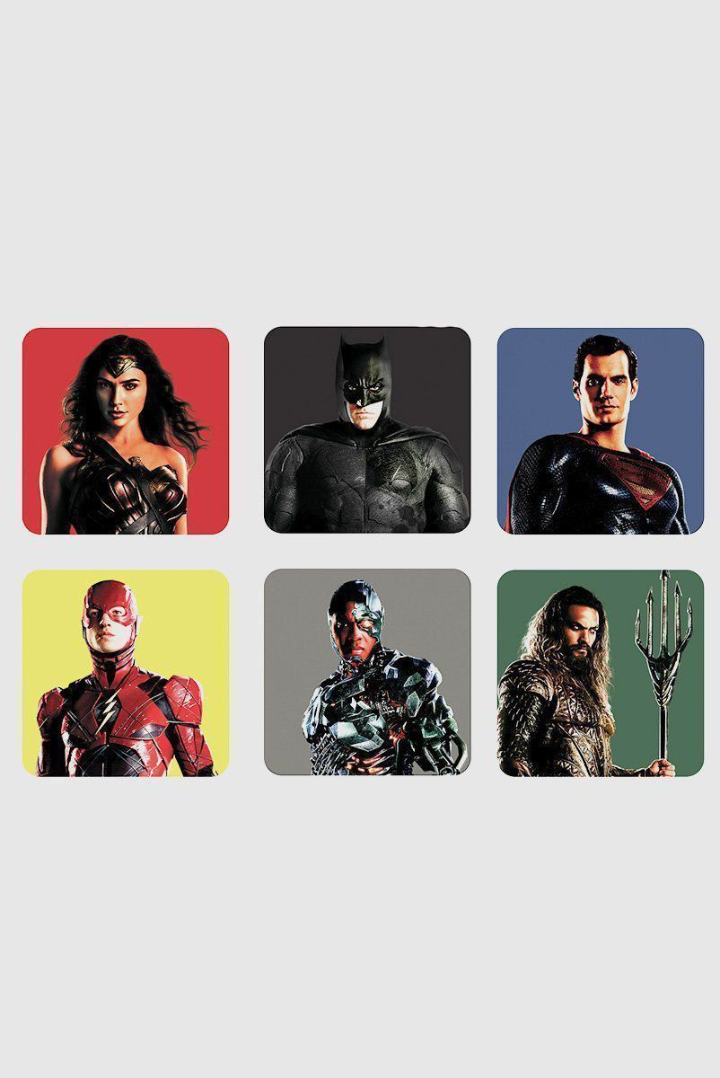 Porta Copos Justice League Movie Characters