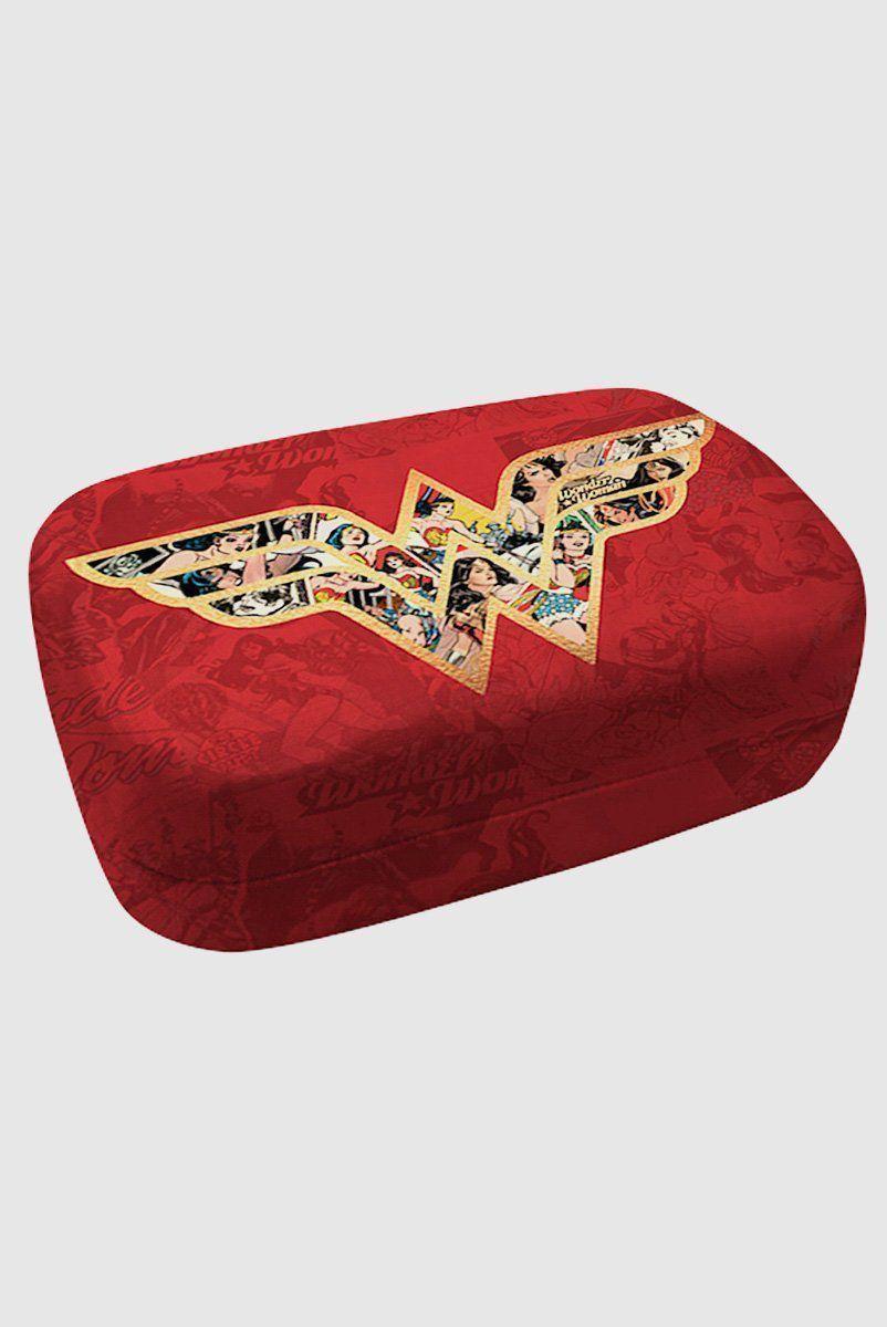 Porta Lentes de Contato Wonder Woman Movie Logo