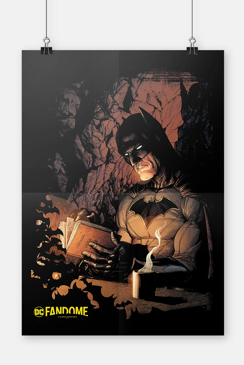 Pôster Fandome Batman Book