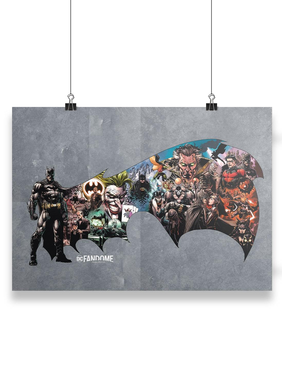 Pôster Fandome Batman Universo