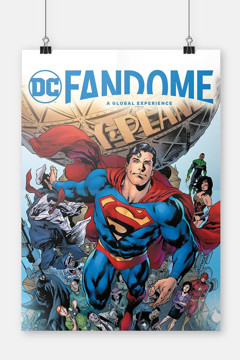 Pôster Fandome Superman