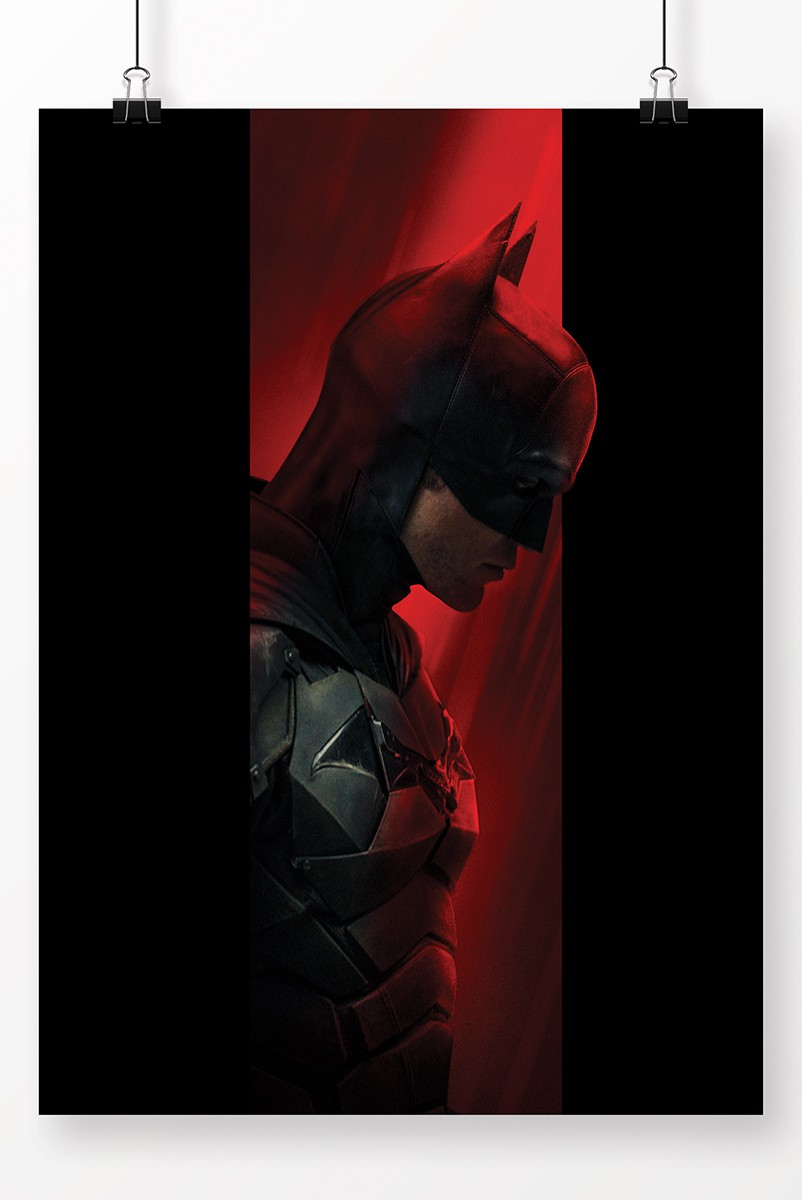 Pôster Fandome The Batman Perfil