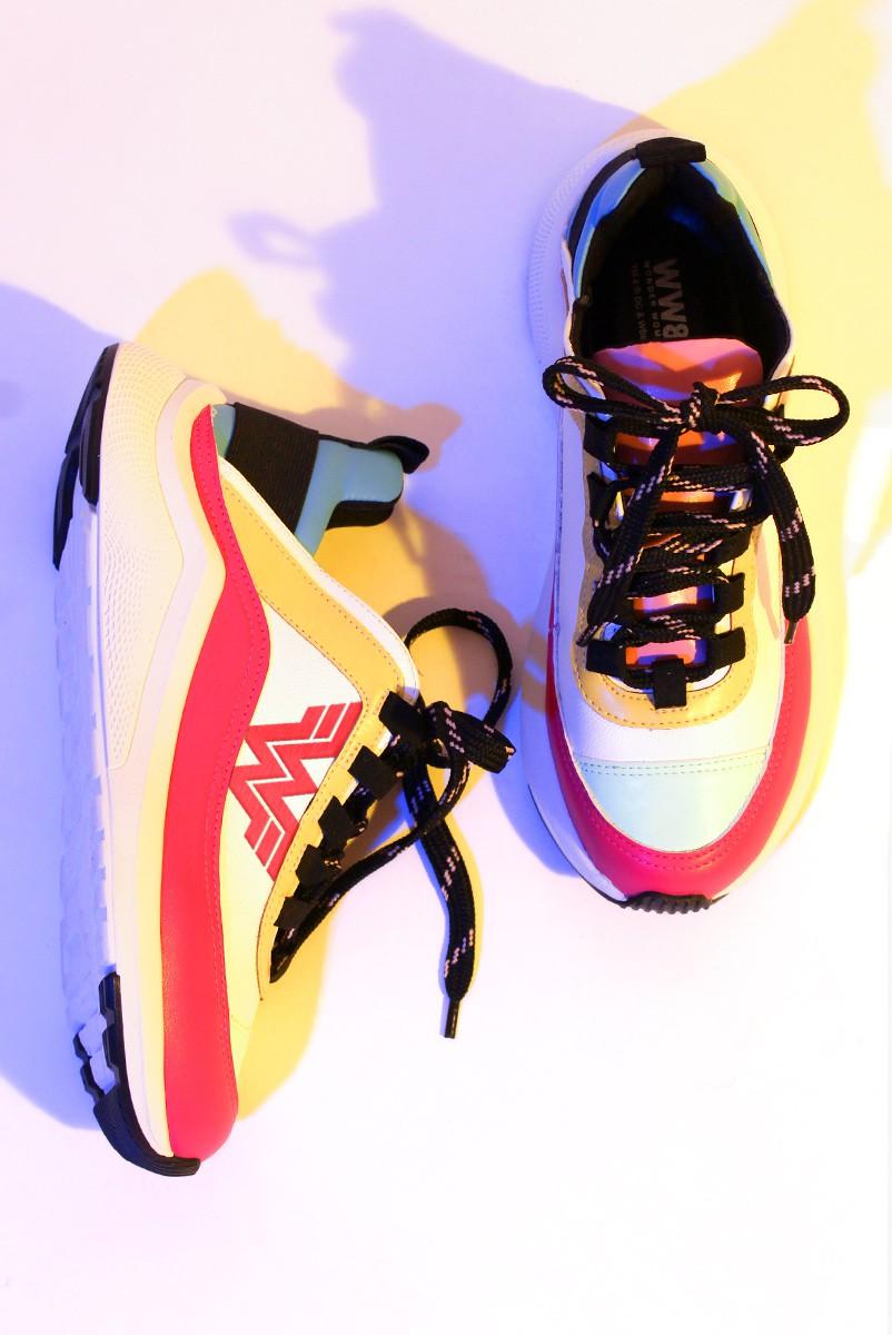 Tênis Cano Baixo Mulher Maravilha 1984 Colors