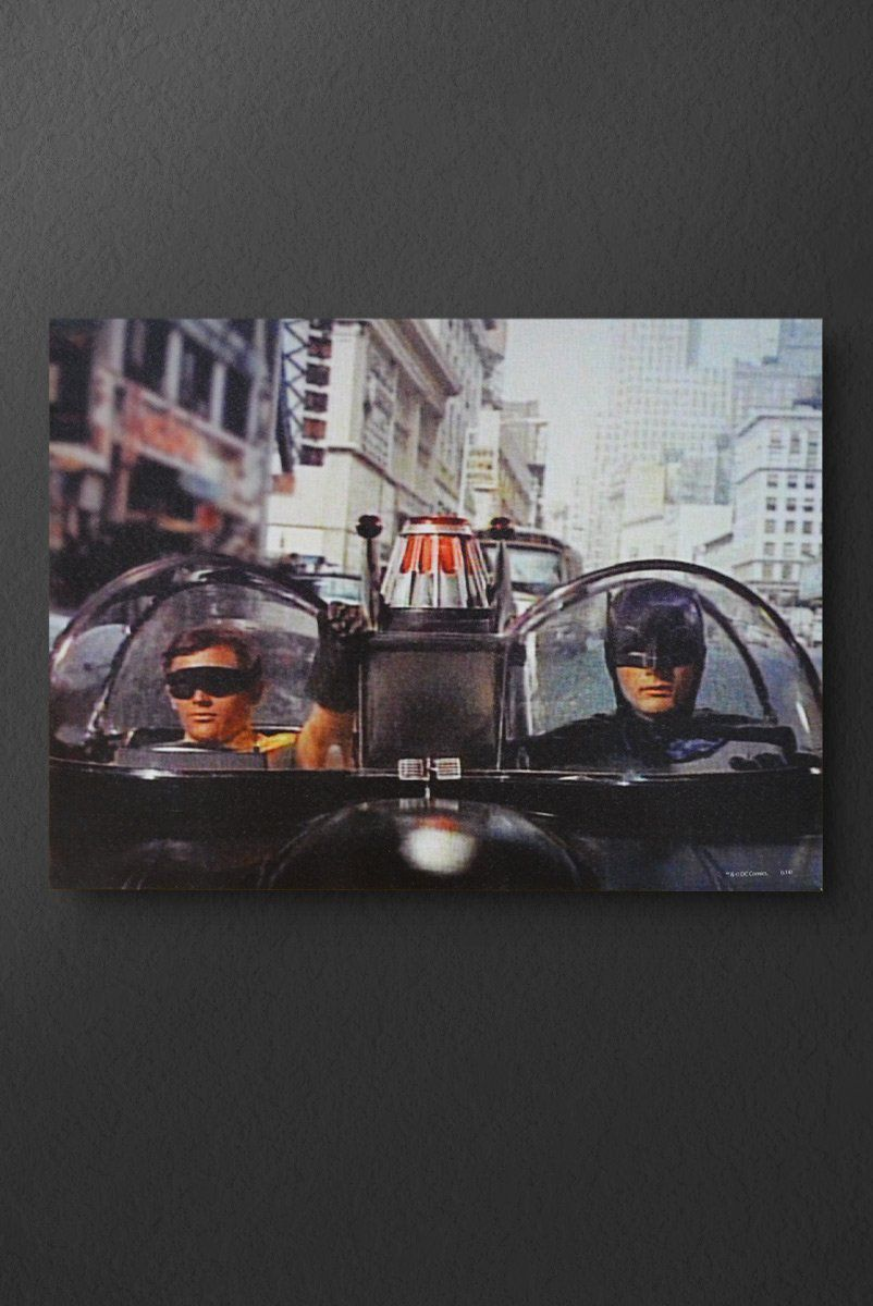 Quadro Tela DC Movie Batman and Robin