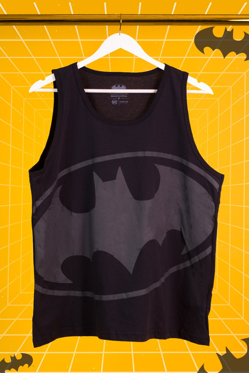 Regata Masculina Batman Logo Full