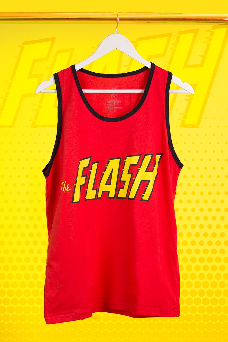 Regata Masculina The Flash Logo Clássico