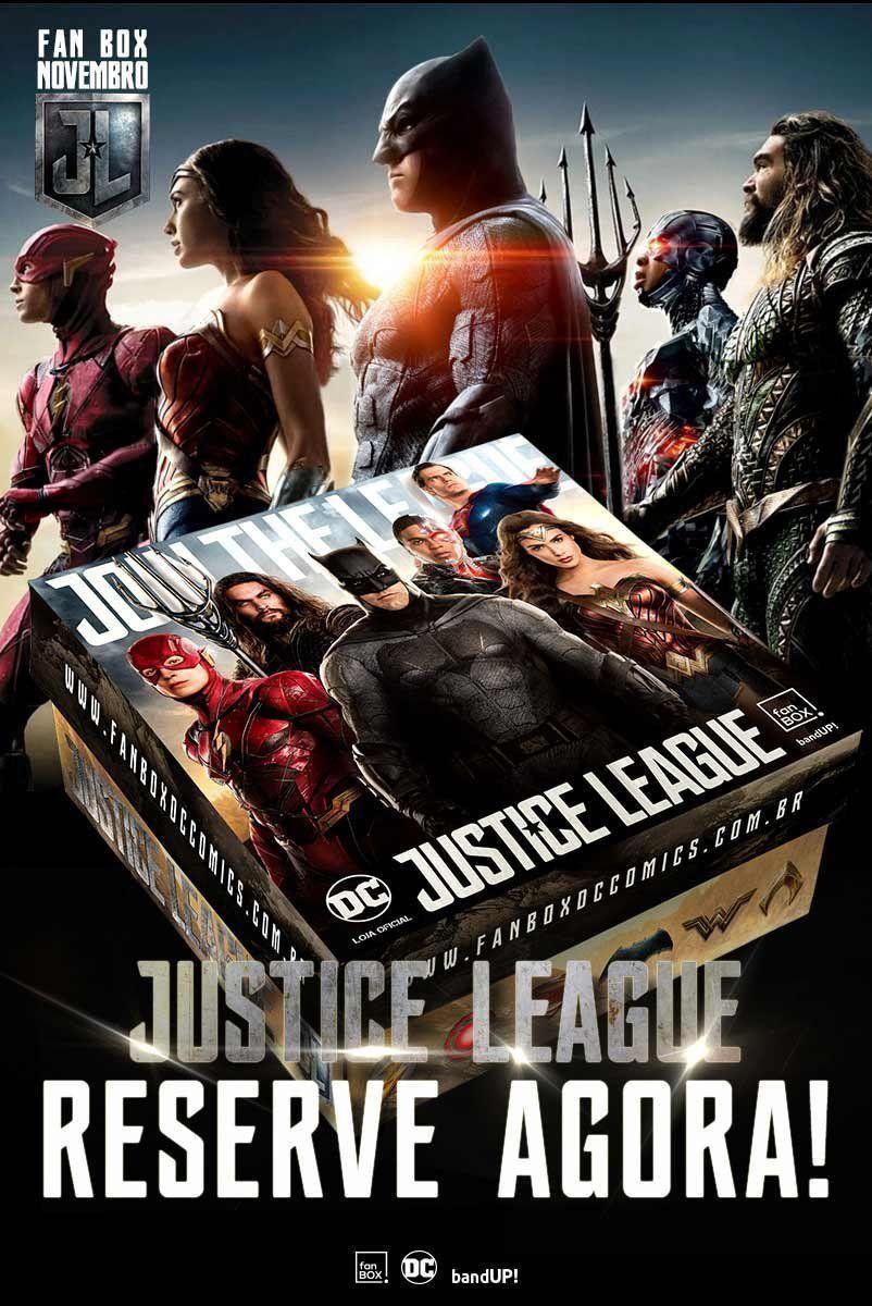 Reserva Fan Box DC Comics Liga da Justiça