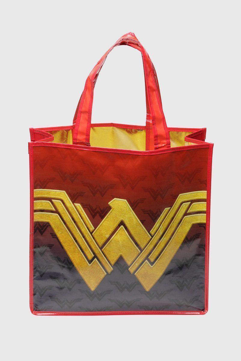 Sacola de Plástico Wonder Woman Fancy Shinny