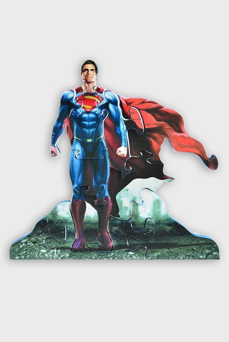 Quebra-Cabeça 3D Batman VS Superman The Man of Steel