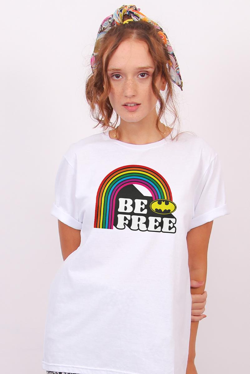 T-shirt Feminina Batman Be Free