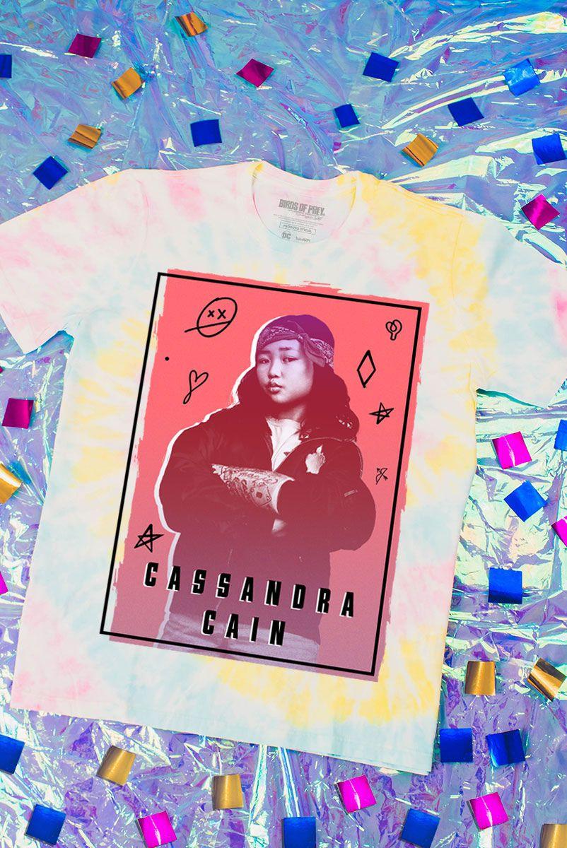 NÃO ATIVAR Camiseta Unissex Birds of Prey Cassandra Cain - Aves de Rapina