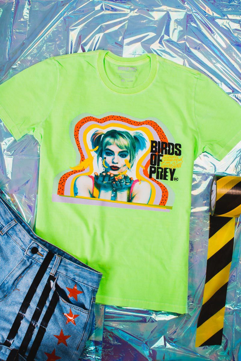 T-Shirt Feminina Birds of Prey Harley Quinn - Aves de Rapina