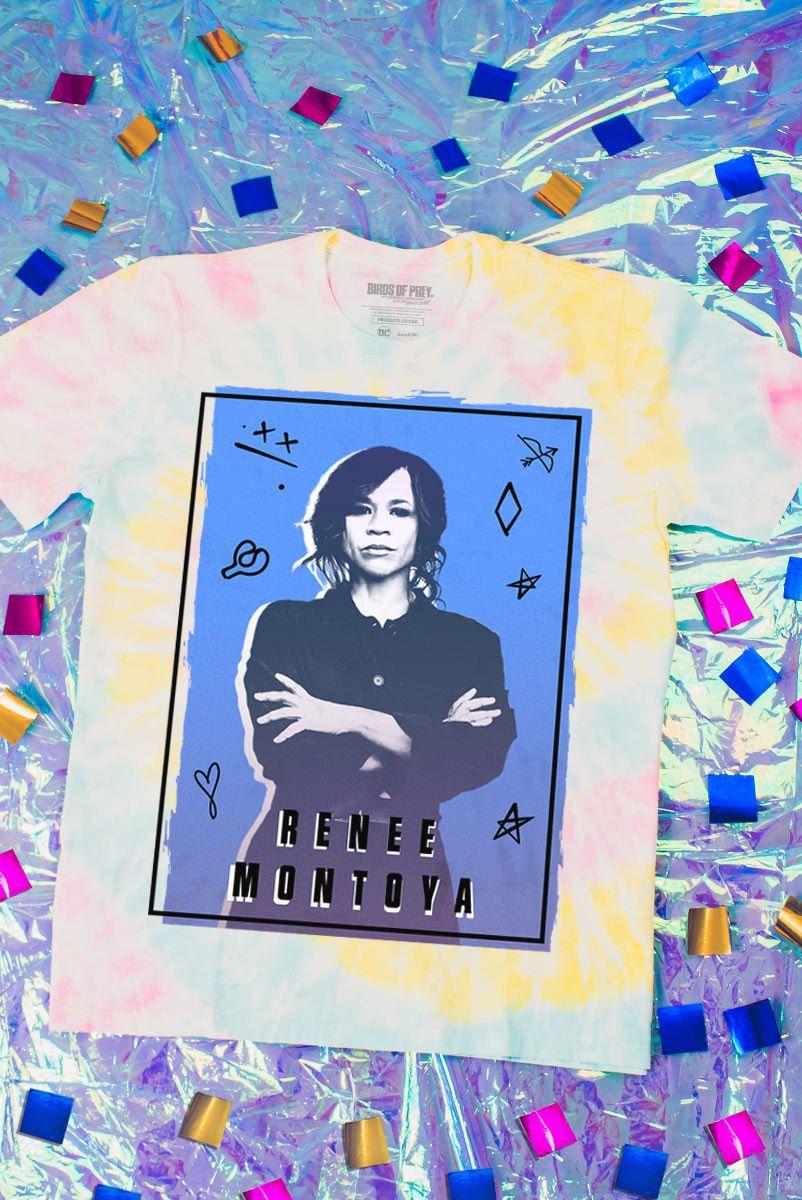 Camiseta Unissex Birds of Prey Renee Montoya - Aves de Rapina