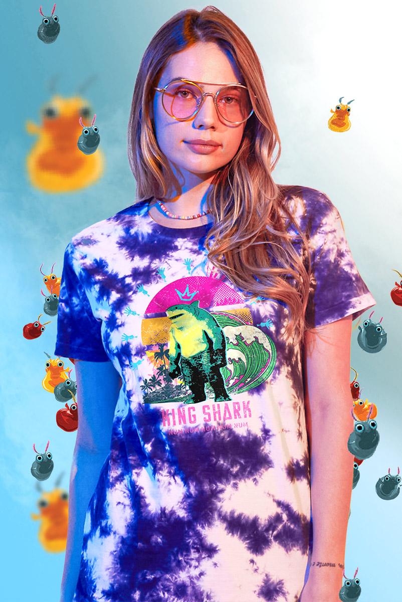T-shirt Feminina Esquadrão Suicida King Shark