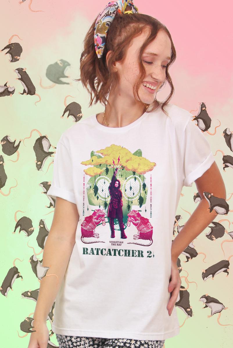 T-shirt Feminina Esquadrão Suicida Ratcatcher 2