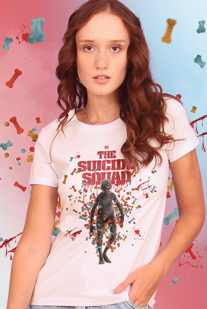 Camiseta Feminina Esquadrão Suicida The Weasel