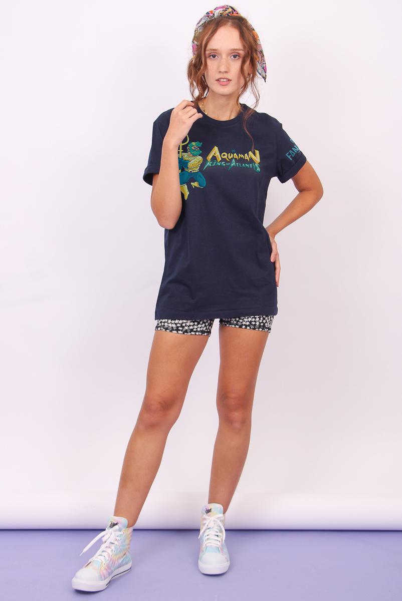 T-shirt Feminina FanDome 2021 Aquaman