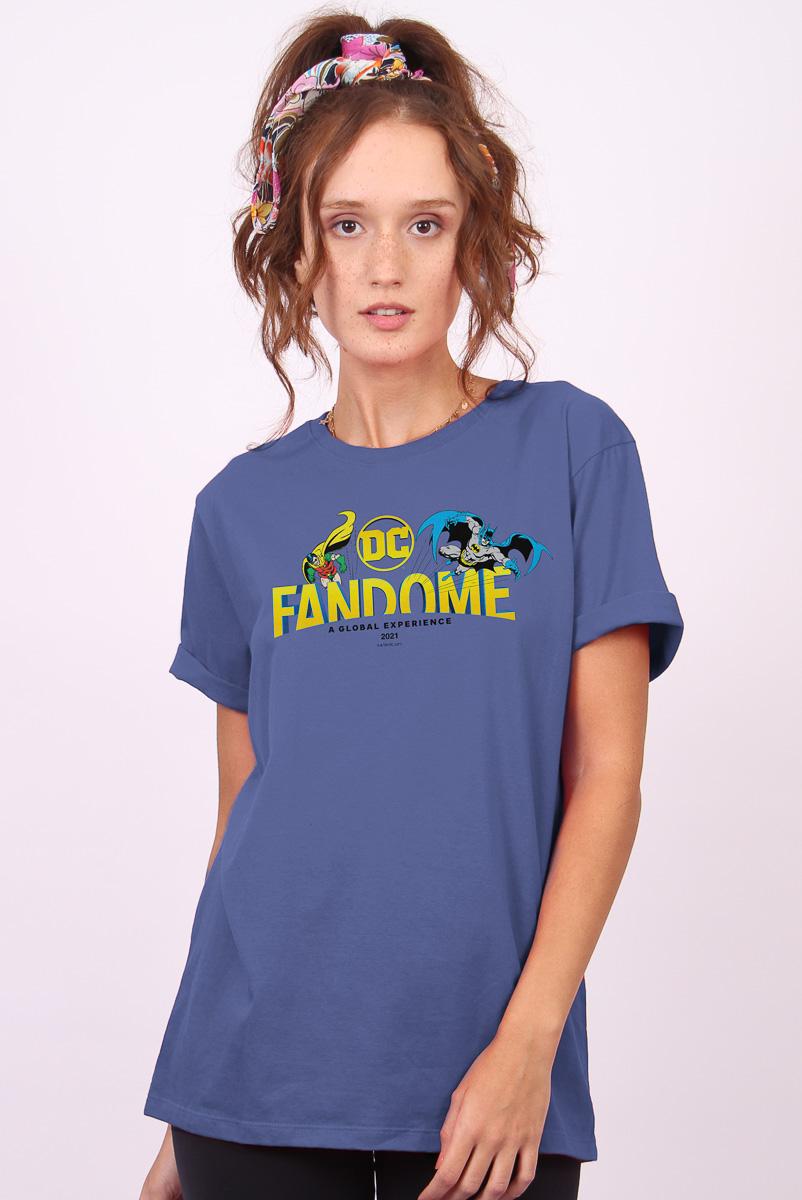 T-shirt Feminina FanDome 2021 Batman e Robin