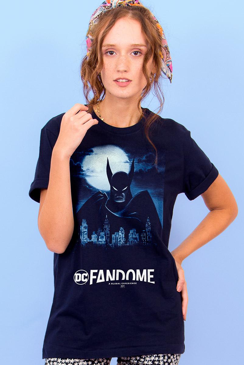 T-shirt Feminina FanDome 2021 Batman Gotham City