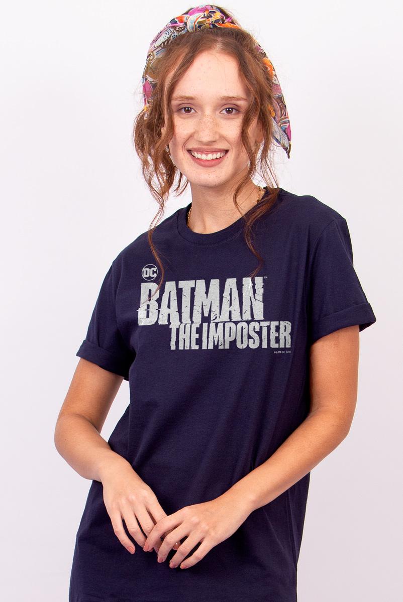 T-shirt Feminina FanDome 2021 Batman : O Impostor