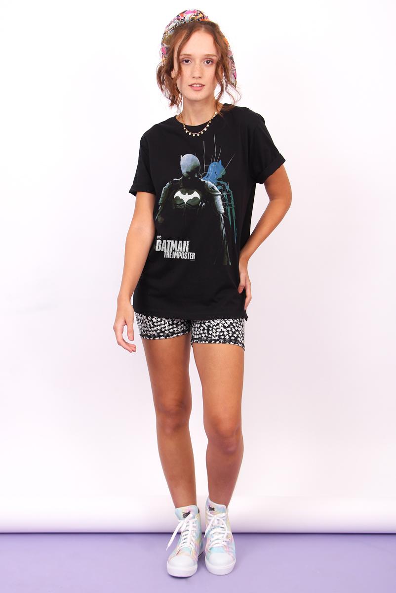 T-shirt Feminina FanDome 2021 Batman : O Impostor Capa