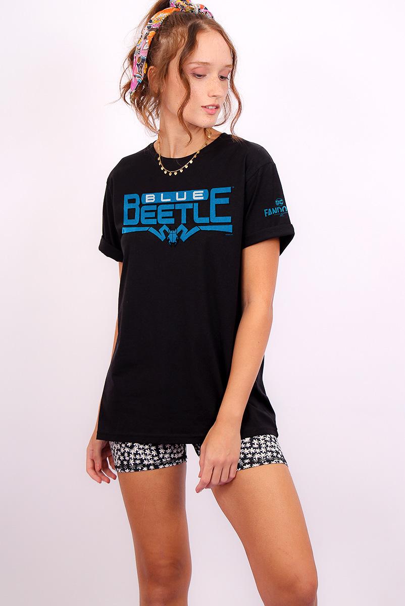T-shirt Feminina FanDome 2021 Besouro Azul
