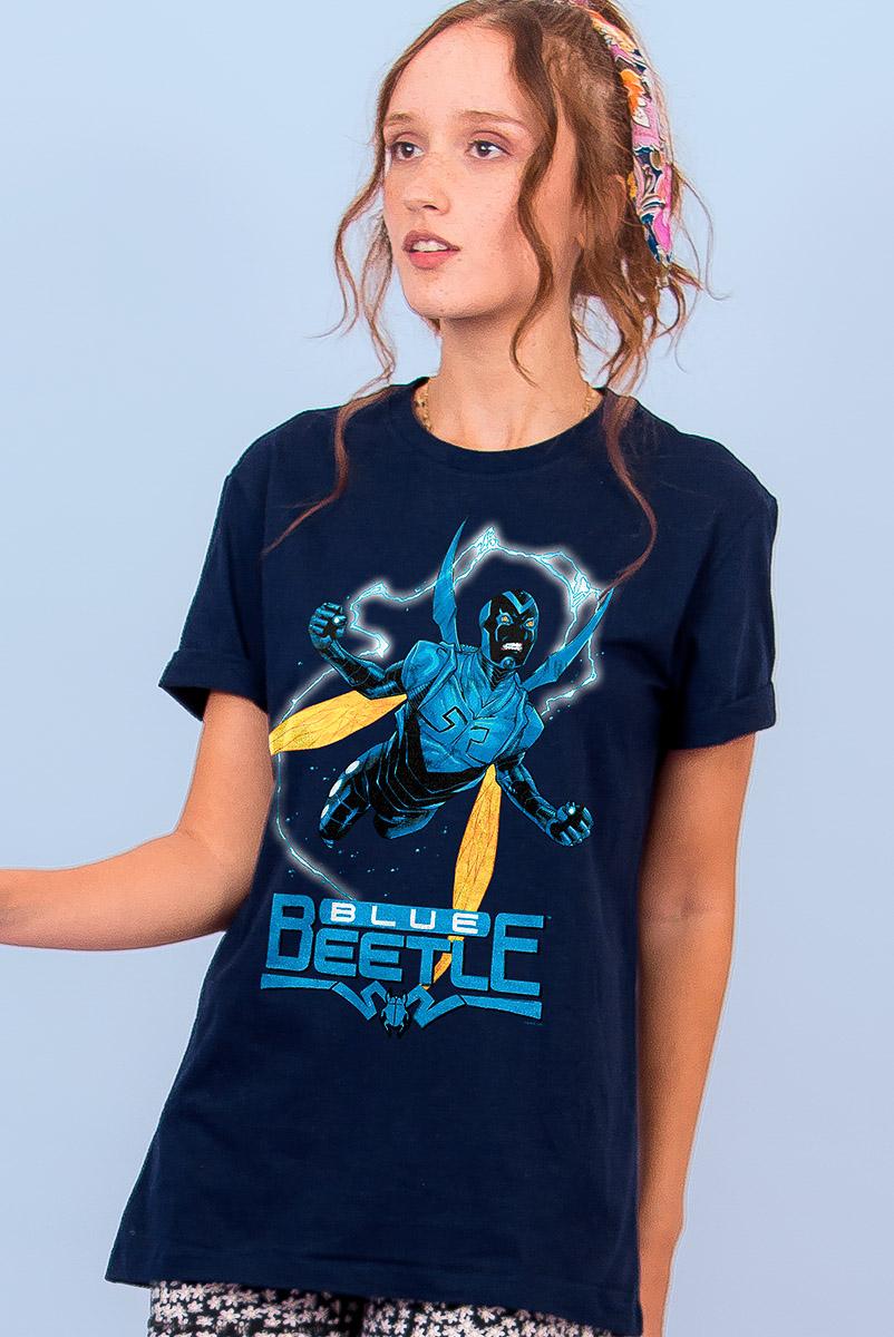 T-shirt Feminina FanDome 2021 Besouro Azul Fly
