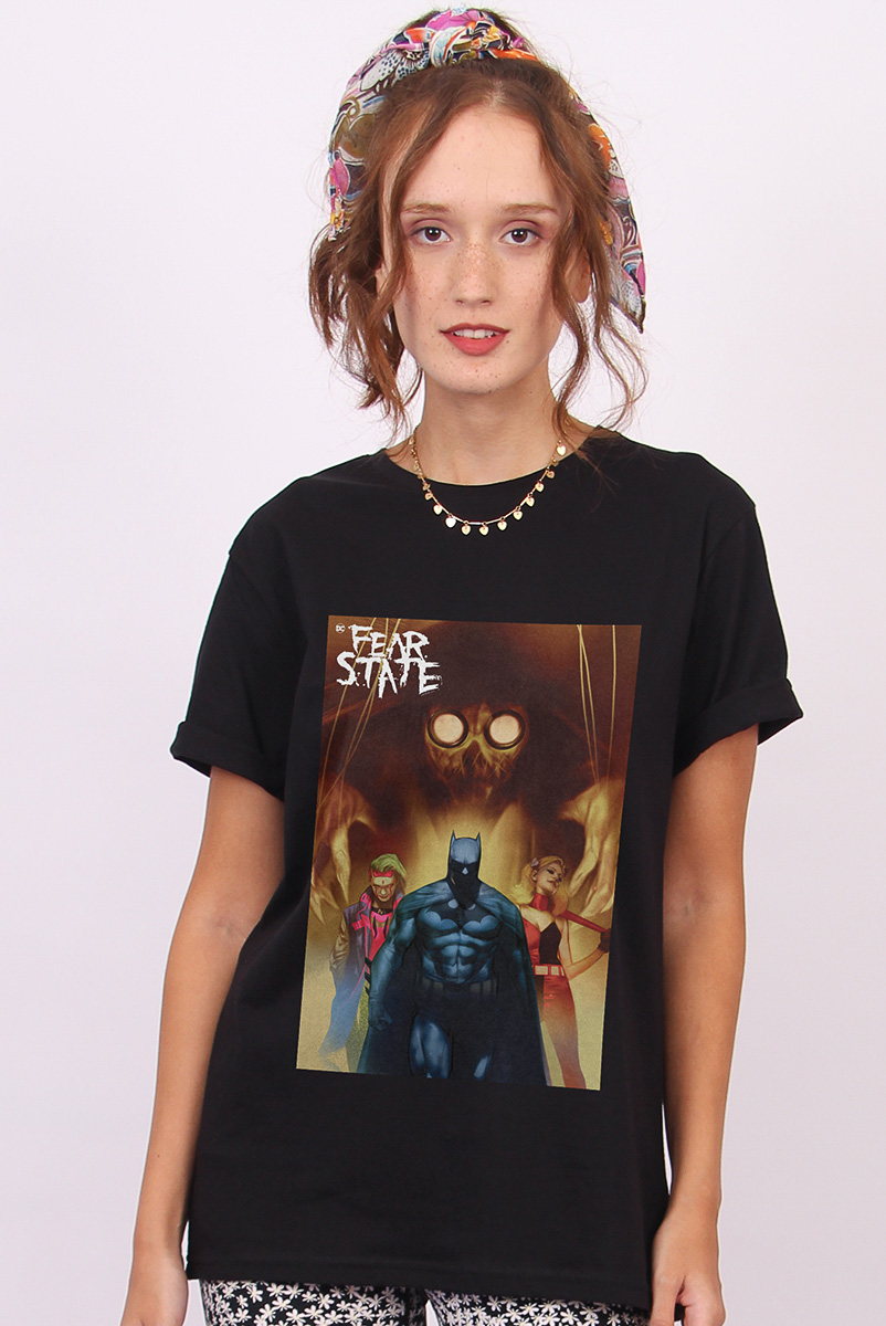 T-shirt Feminina FanDome 2021 Fear State Family