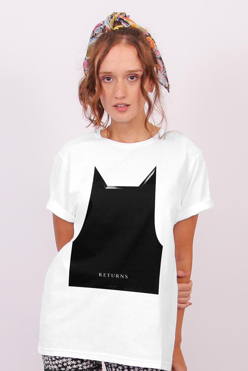 T-shirt Feminina FanDome 2021 Batman Mask