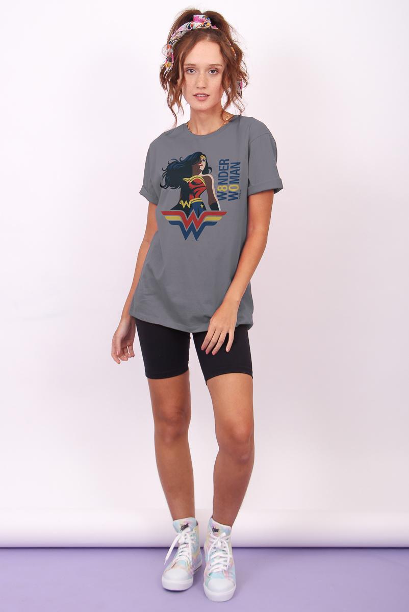 T-shirt Feminina FanDome 2021 Mulher Maravilha 80 Anos
