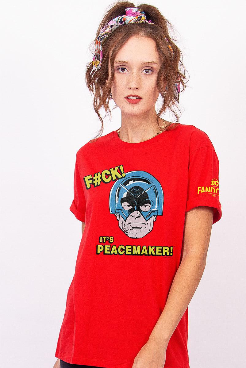 T-shirt Feminina FanDome 2021 Peacemaker