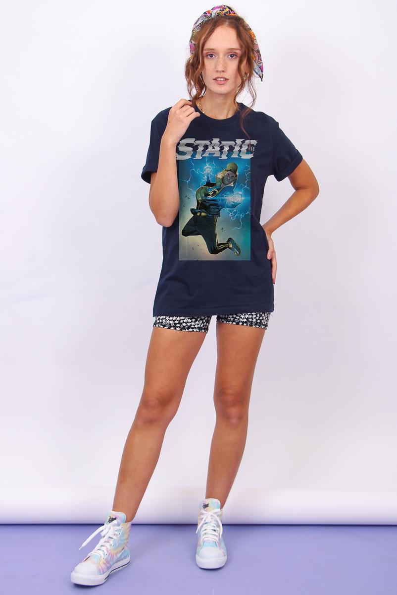 T-shirt Feminina FanDome 2021 Super Choque