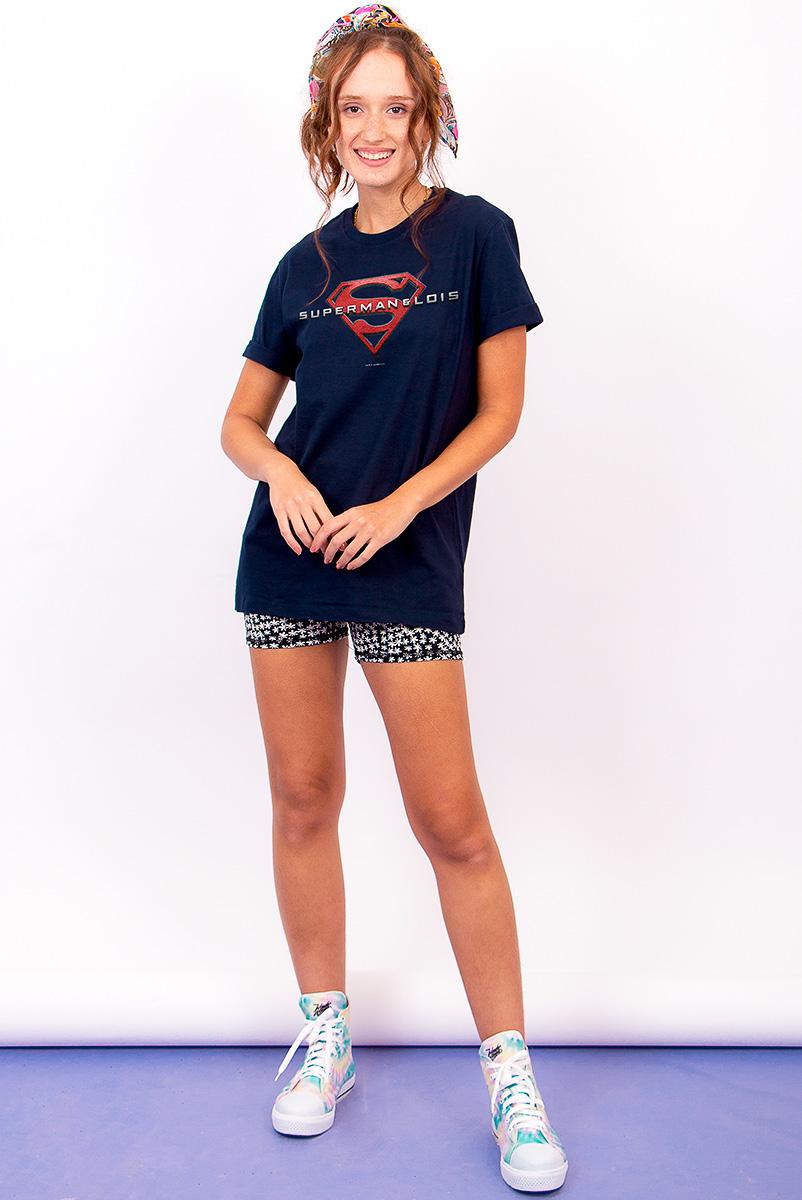 T-shirt Feminina FanDome 2021 Superman & Lois