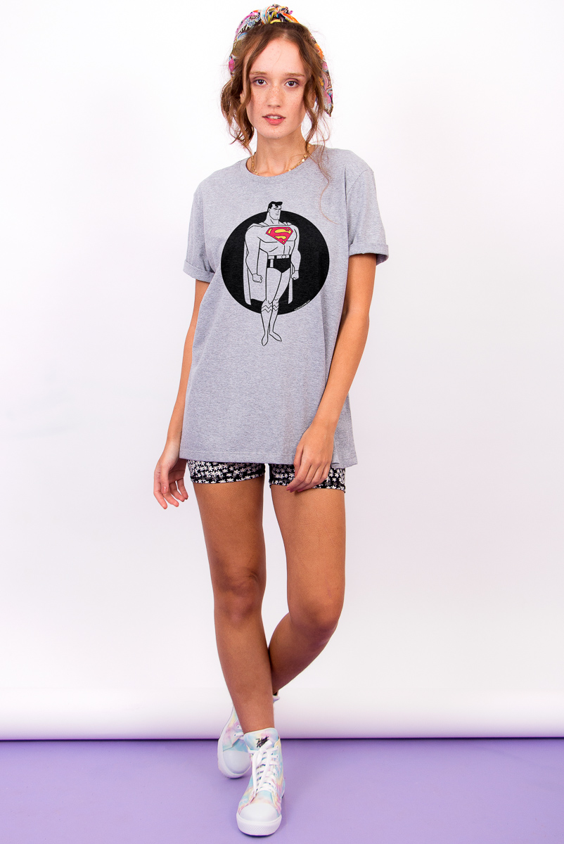 T-shirt Feminina FanDome 2021 Superman Steel