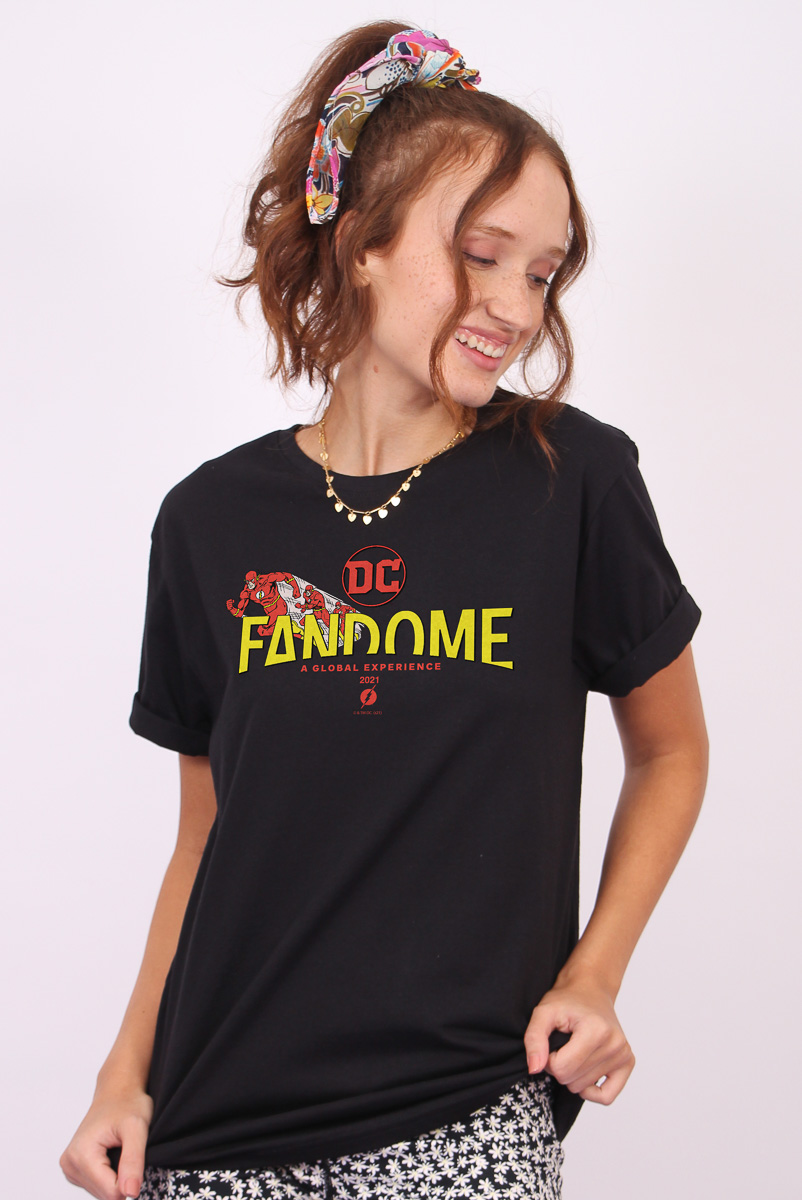 T-shirt Feminina FanDome 2021 The Flash