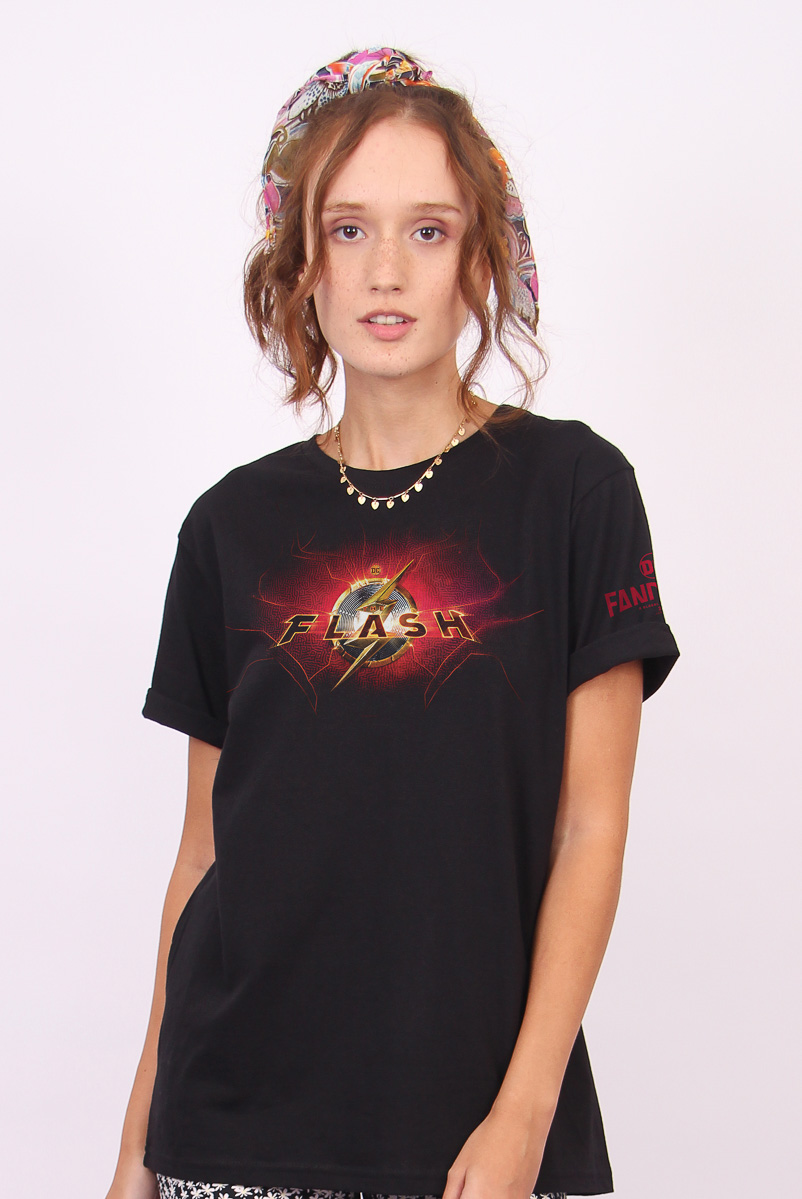 T-shirt Feminina FanDome 2021 The Flash Energy