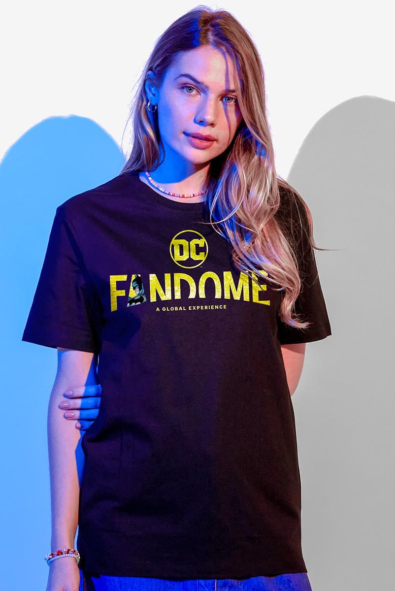 T-shirt Feminina Fandome Logo Batman