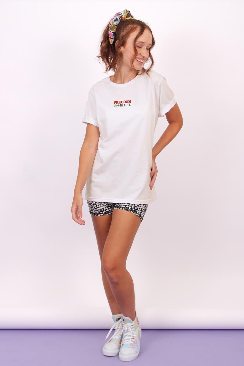 T-shirt Feminina Freedom Be Free