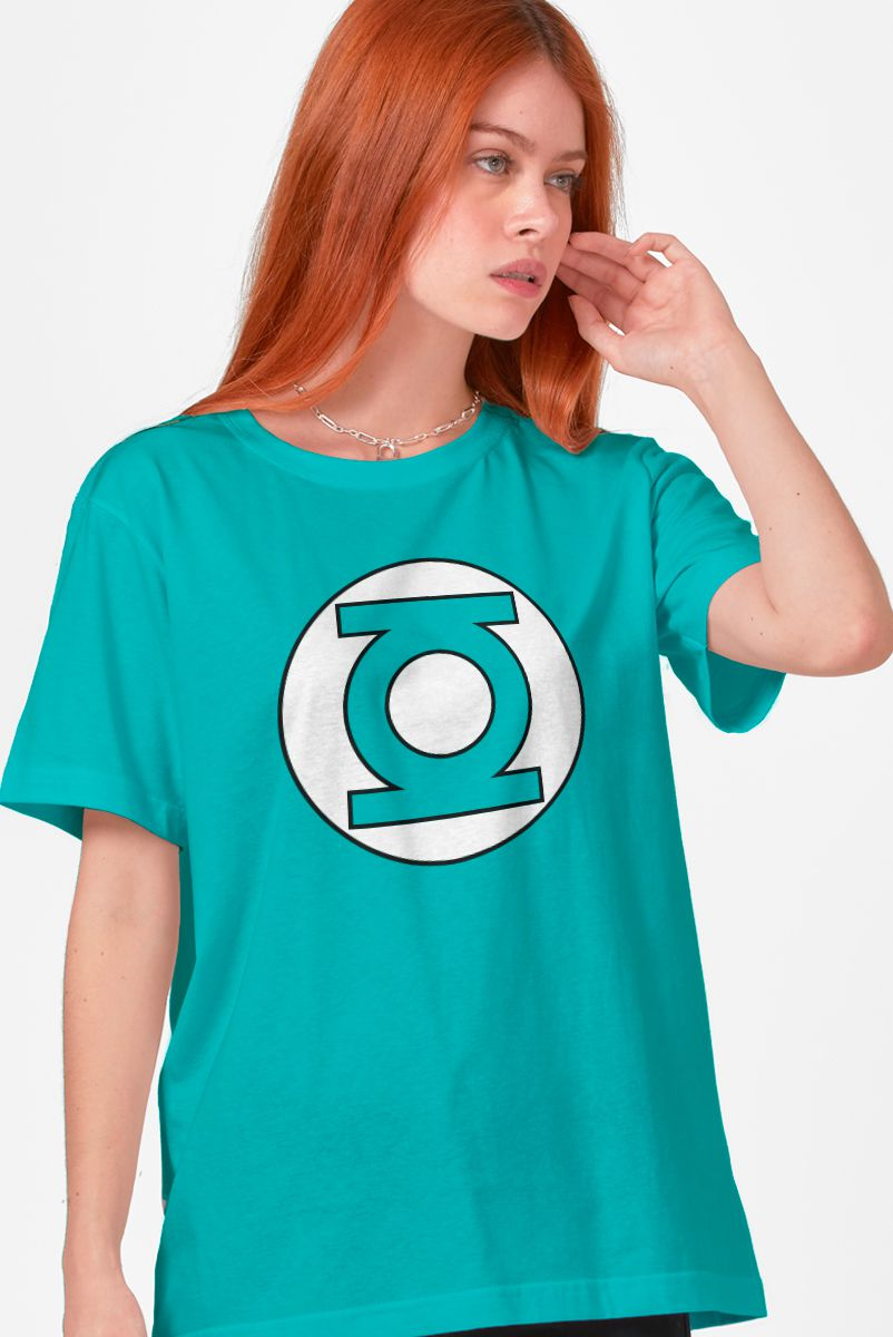 T-shirt Feminina Lanterna Verde Logo