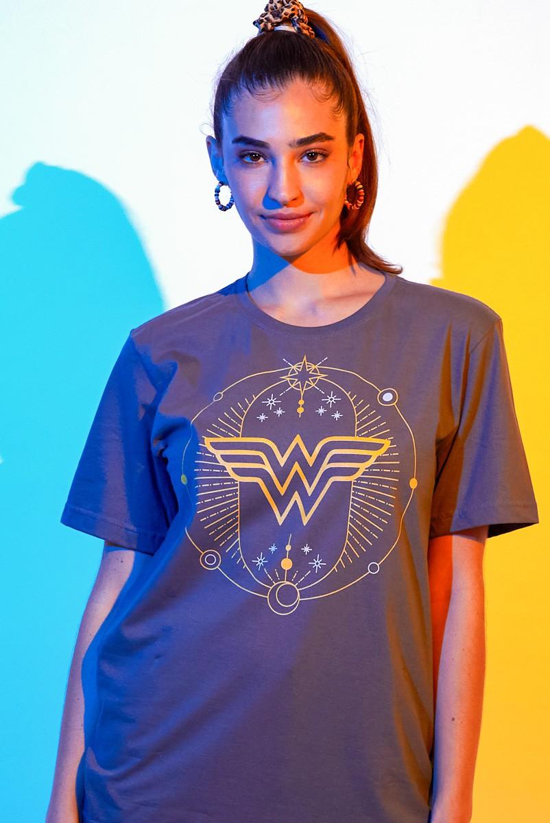 T-shirt Feminina Mulher Maravilha 1984 Astros e Estrelas