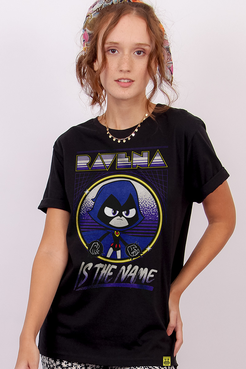 T-shirt Feminina Ravena Is The Name