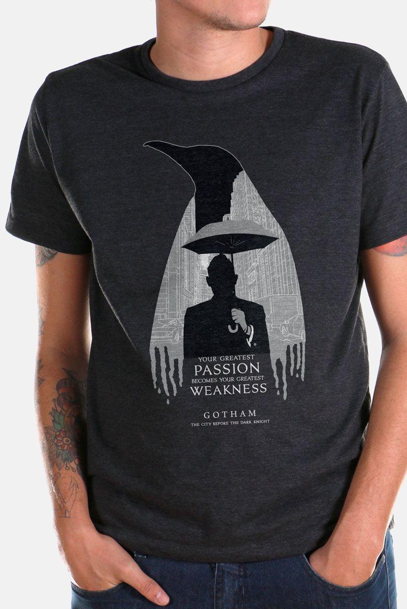 T-shirt Premium Masculina Gotham Your Greatest Weakness