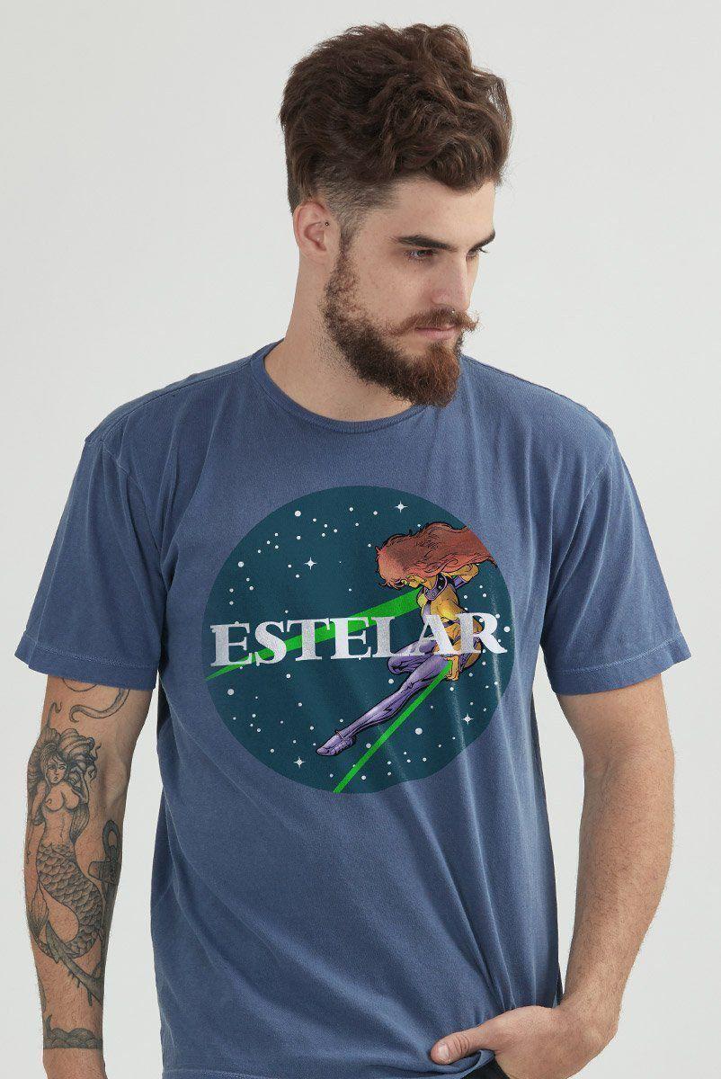 T-shirt Premium Masculina Teen Titans Estelar