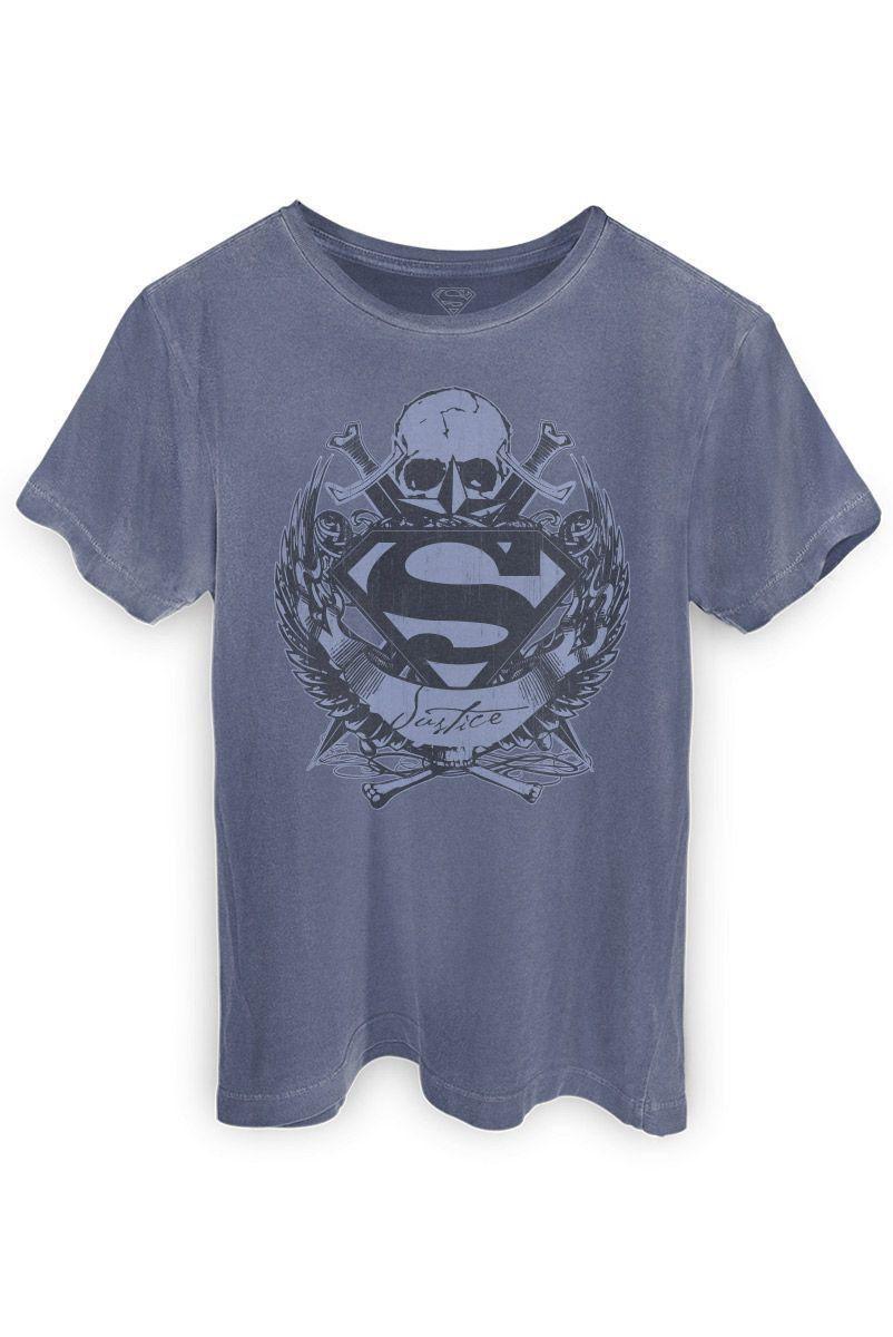T-shirt Premium Masculina Superman Freaks Young Men