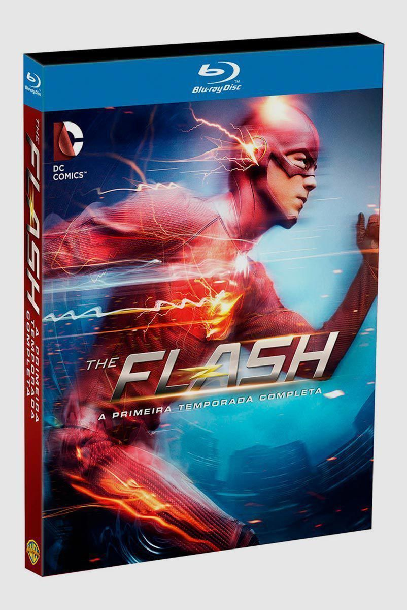 Blu-Ray BOX The Flash A Primeira Temporada Completa