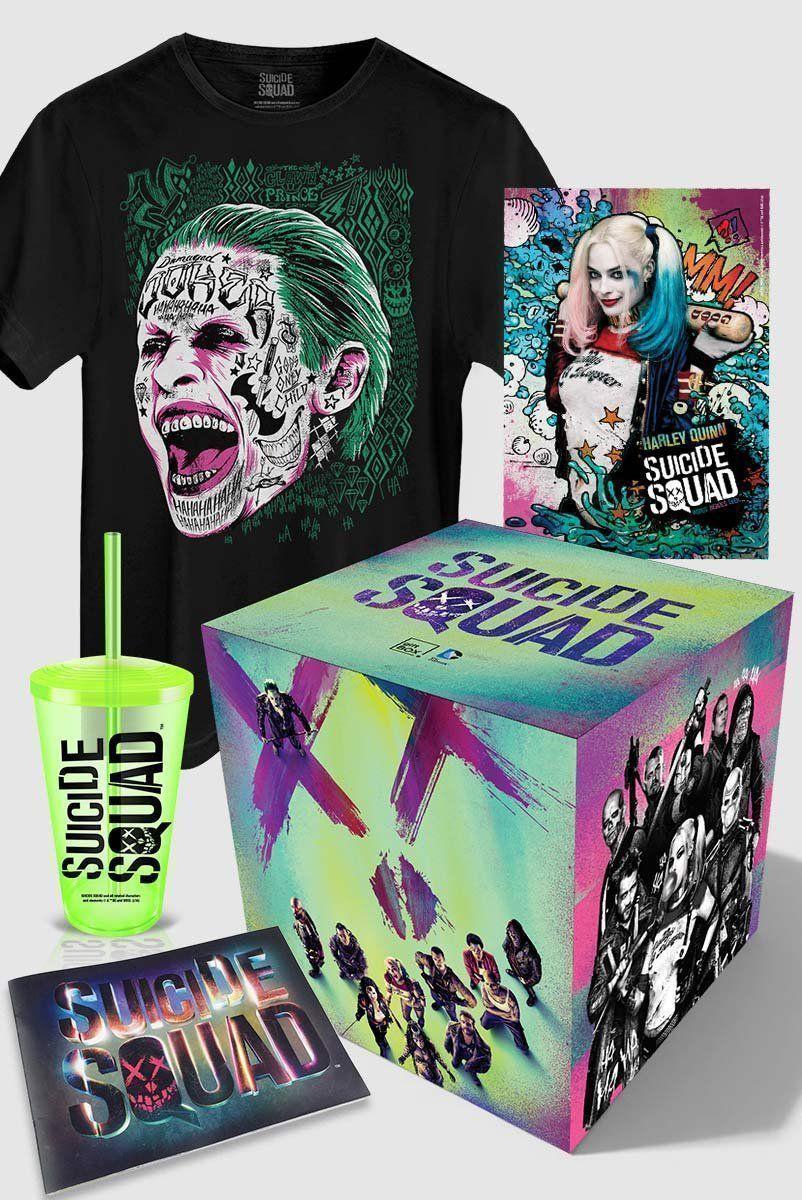 Gift Box Esquadrão Suicida