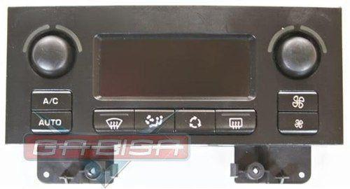 Comando Controle De Ar Condicionado Digital do Painel 9646627977 Peugeot 307 01 02 03 04 05 06 07 08 09