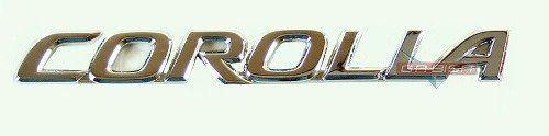 Simbolo Emblema Corolla Traseiro P/ Toyota Corolla  03 A 08