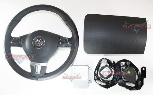 Kit Air Bag Fox Cross Space 09 12 Bolsas Modulo Volante  - Gabisa Online Com Imp Exp de Peças Ltda - ME